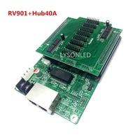 LINSN RV901 Receiving Card HUB40A Board Commerical LED Video Screen LINSN Receiving Card