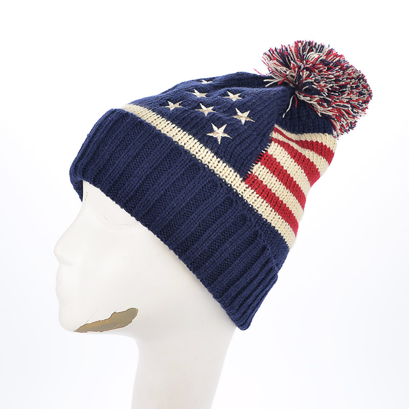 2016 cap Fashion casual knit wool hats for women men autumn and winter warm hat color balls retro lovers star Skullies & Beanies skullies 2017 new arrival hedging hat female autumn and winter days wool cap influx of men and women scarf scarf hat 1866729