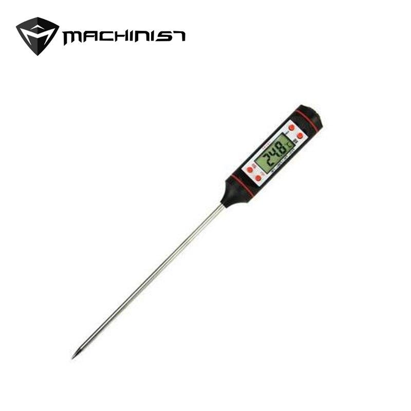 1 pcs Voiture r134a cuisson en acier Inoxydable thermomètre stylo SSAT climatisation ventilation température automobile outils de réparation