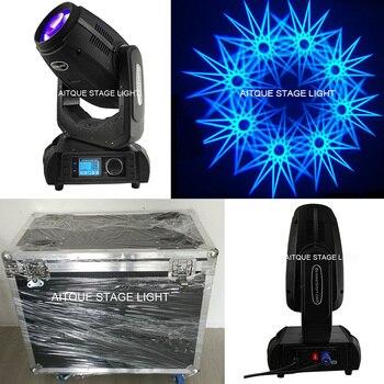 (8 lichter + flycase) Dj ausrüstung robe 280 watt strahl/spot/wasch 3in1 moving head licht r10 moving head wash lichtpunkt 280 watt 10r