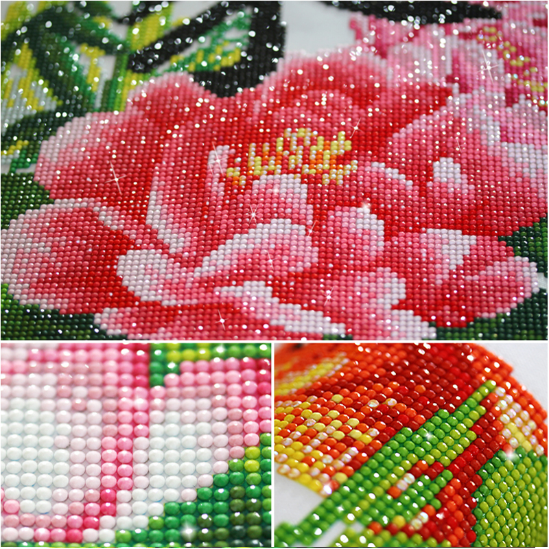 Diy Diamond Painting Cross Stitch Santa Claus Presents Gifts Needlework 3D Diamond Embroidery Full Round Mosaic Decoration Resin in Diamond Painting Cross Stitch from Home Garden