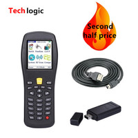 Techlogic X3 Wireless Barcode Scanner Inventory Bar Code Scanner Handheld Terminal PDA Laser Barcode Reader Bar Code Gun