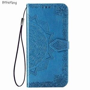 Image 2 - Voor Xiaomi Redmi 7 Case Redmi 7 Cover PU Leather Flip Case Luxe Portemonnee Capa Boek Cover Card Slot Voor xiaomi Redmi 7 Telefoon Tas