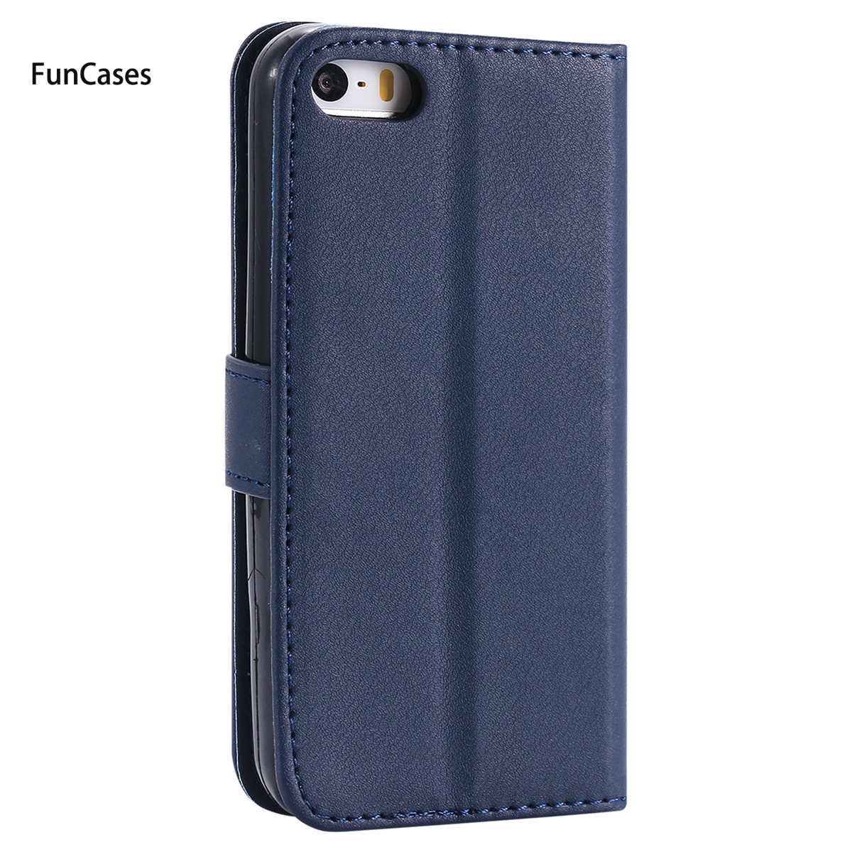 Latest Wallet Phone Case sFor Funda iPhone 5 Holsters Clips Case