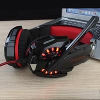 KOTION EACH G9000 Stereo Gaming Headphone Earphones With Mic LED Light Luminous Headset Gaming Earphone For