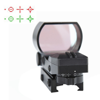 Hunting Scopes 4 Reticle Picatinny Mount Rail Red Green Dot Sight Hunting Airsoft Riflescopes Tactical Air