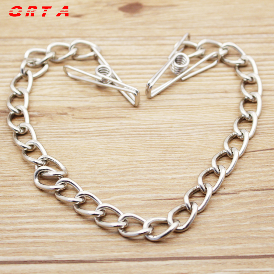Buy QRTA Women Metal Nipple Clamps Clips Nipples Bondage Fetish Toys Couples Adult Games sex toys adult product