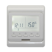 Programmable Electric Digital Floor Heating Room Air Thermostat Warm Controller Temperature Controller Floor Heating Parts