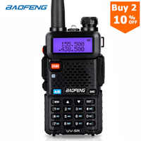 BaoFeng walkie talkie UV-5R zwei weg cb radio upgrade version baofeng uv5r 128CH 5W VHF UHF 136-174 mhz & 400-520Mhz