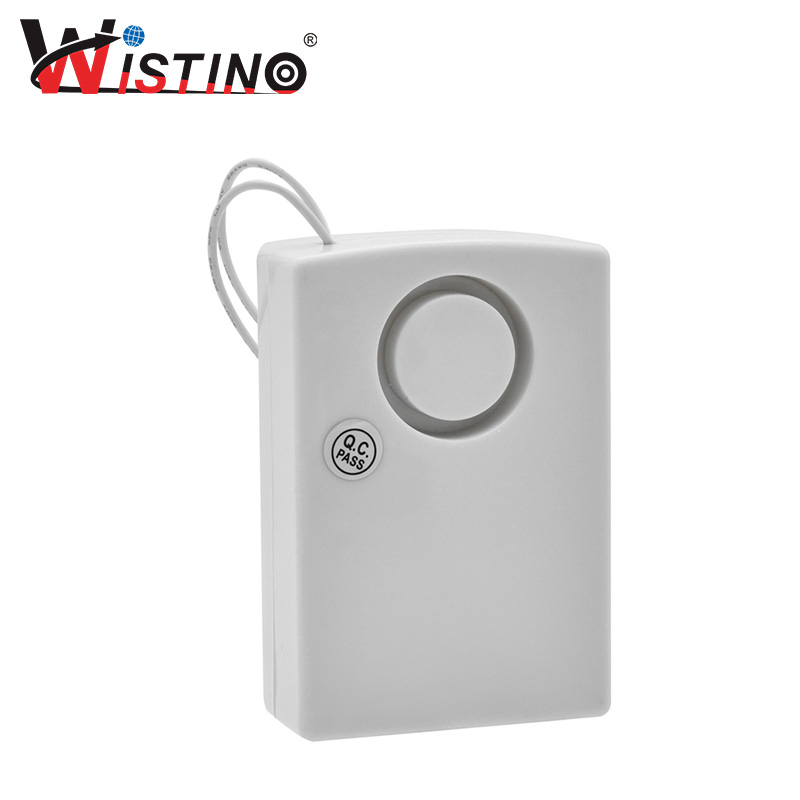 Wistino Alarm Detector High Sensitive Vibration Alarm Device Anti Lost Door Home Security Dry Battery Electric cx007 multifunctional anti full range all round detector alarm