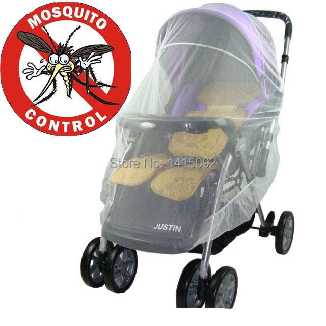 Baby Newborn Stroller Mosquito Net Buggy Pram Protector Fly Midge Insect Bug Cover Infants Kids Pushchair Nets Bar Accessories