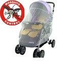 Bebê recém-nascido Stroller Mosquito Net Buggy Pram Protector Fly Midge Insect Bug capa crianças crianças carrinho de bebé redes acessórios Bar