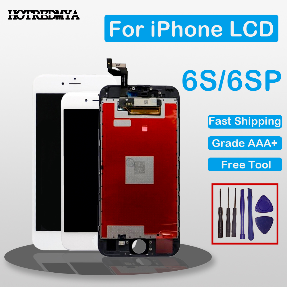 Grade AAA LCD For iPhone 6 6S Plus LCD With 3D Force Touch Screen Digitizer Assembly For iPhone 6s Display No Dead Pixel