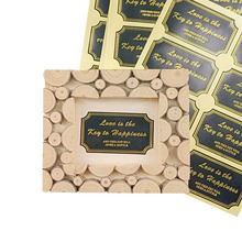 80pcs/lot Black 'Love Is The Key To Happiness' Paper Seal Label Sticker Golden Scrapbooking Sticker Labels For Gift Decoration водолазка mango man mango man he002emgacf7