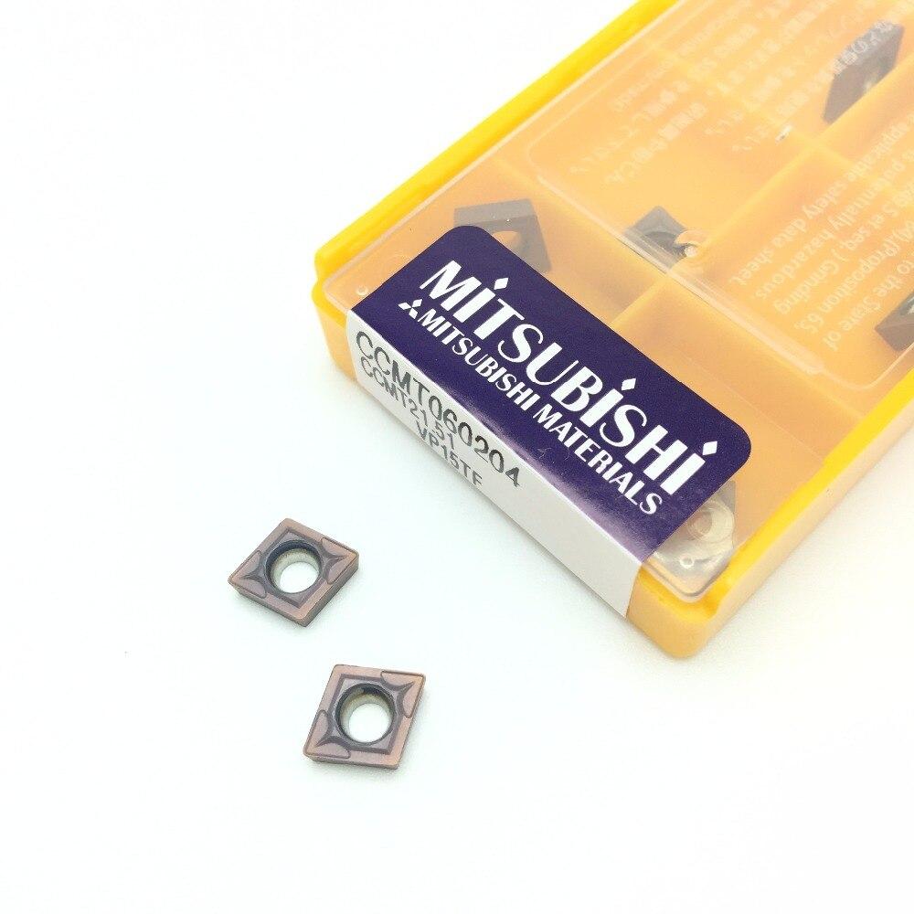 10Pcs CCMT060204 VP15TF/UE6020/US735 Original Internal Lathe cutter Turning Tools Carbide inserts arron cncTurning Tool цена 2017