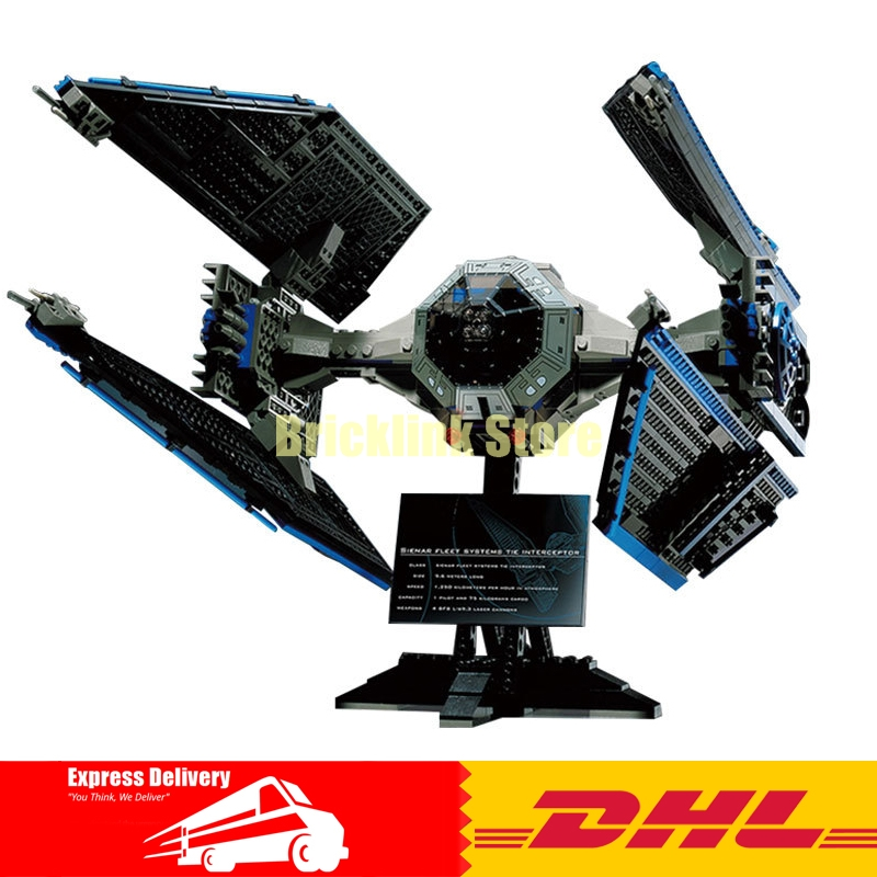 IN STOCK New Lepin 05044 703pcs Series Limited Edition The TIE Interceptor Building Blocks Bricks Model Toys 7181