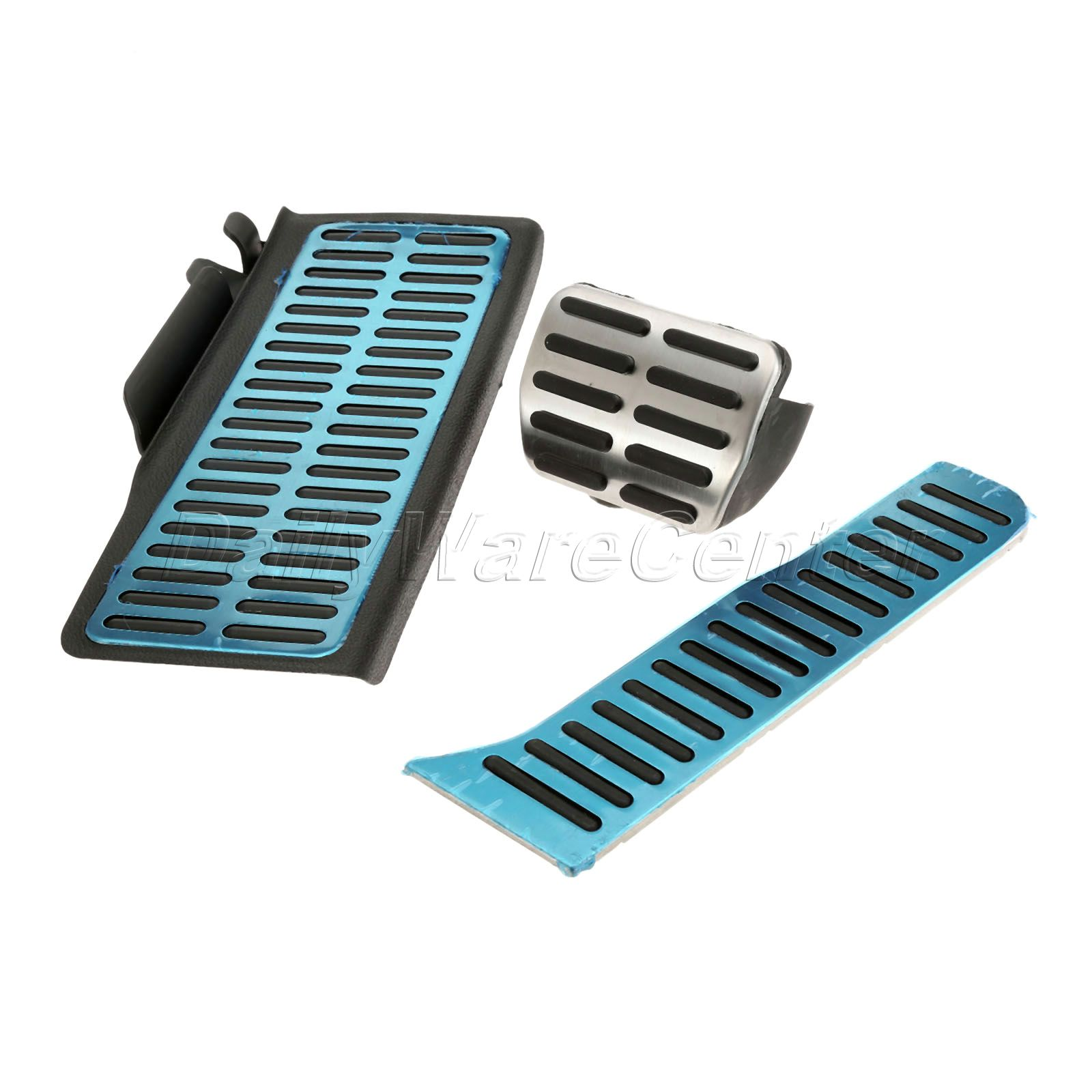 Car Styling Stainless Steel Footrest Accelerator Gas Brake Pedal Foot Rest Pad For VW Magotan CC