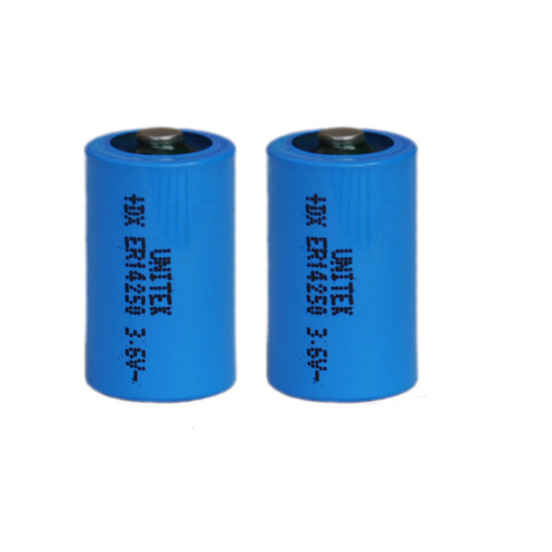 2PCS ER14250 <font><b>1</b></font>/2AA <font><b>3.6V</b></font> liSOCL2 <font><b>Lithium</b></font> <font><b>battery</b></font> <font><b>1</b></font>/<font><b>2</b></font> <font><b>AA</b></font> 14250 PCL dry primary cell 1200mah water meter replace for SAFT LS14250 image