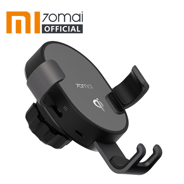 Xiaomi 70mai Qi Wireless Car Charger 10W Car Bracket Intelligent Sensor Fast 70 mai Wirless Charger Phone Holder for Car Auto
