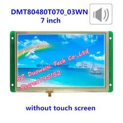 DGUS DMT80480T070_03WN 7-cal bez ekranu dotykowego głos konfiguracja portu ekran LCD