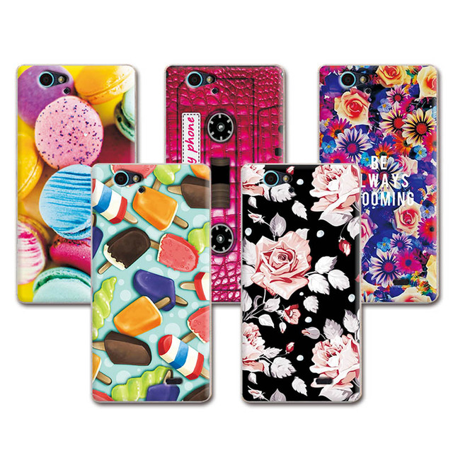 Lovely Fashion Painted Soft TPU Phone Case ZTE Blade L4 Pro T610 A475 Art printed Capa Case Cover Funda ZTE L4 pro a 475+FreePen