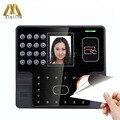 ZK Iface101 Биометрические лица посещаемость времени с MF IC кард-ридер сенсорный экран двери контроля доступа