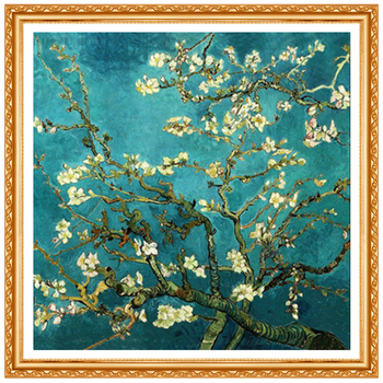Full Diamond Embroidery World Famous Almond Blossom By Van Gogh Diy Diamond Painting A Craft
