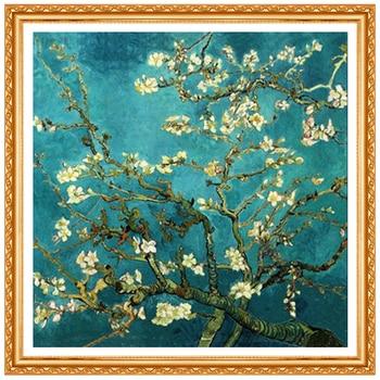 Full Diamond Embroidery World Famous Almond Blossom By Van Gogh Diy Diamond Painting A Craft