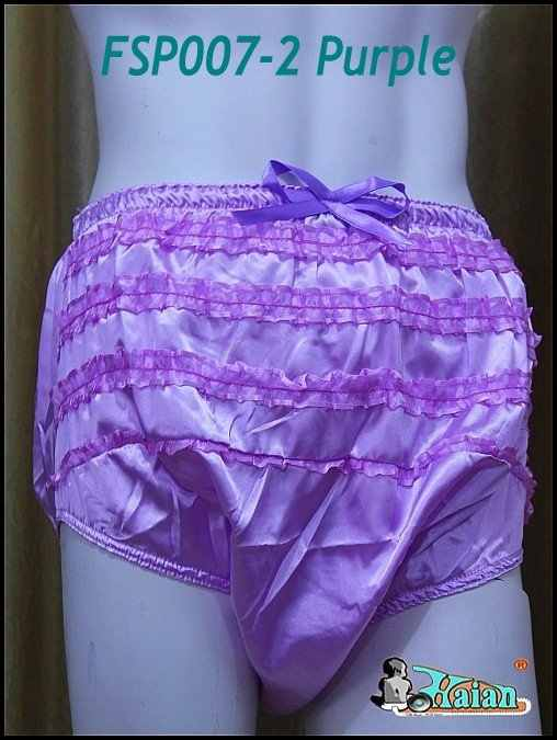 da63ed37e Detail Feedback Questions about Adult Sissy Satin Frilly incontinence Diaper  Cover purple+FSP007 2,S / M / L / XL / 0 on Aliexpress.com | alibaba group