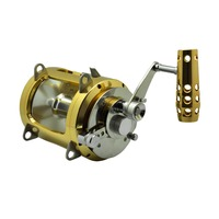 Topline Tackle Trolling Fishing Reels 3.7:1 Right Hand reel Saltwater Reels Baitcasting Drum Reel Coil Fishing Tackle