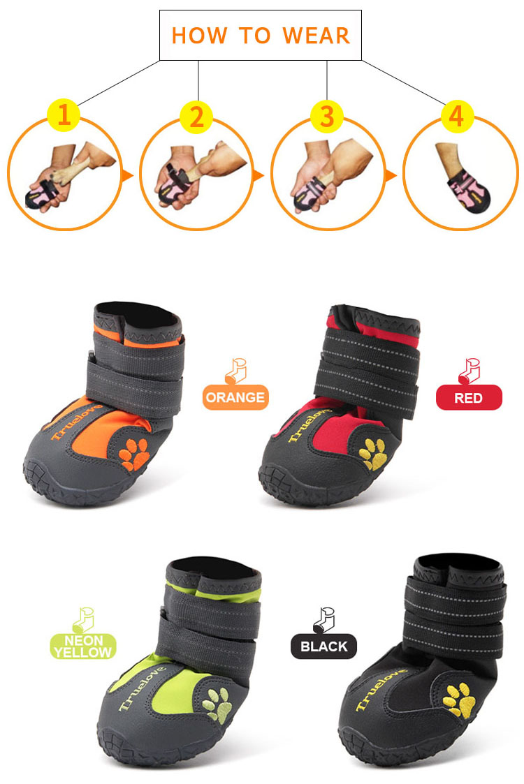 Waterproof Dog Shoes 24