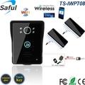 wifi doorbell 7`` TFT Color video door phone Clear photos camera Intercom Doorbell System doorphone IR night vision