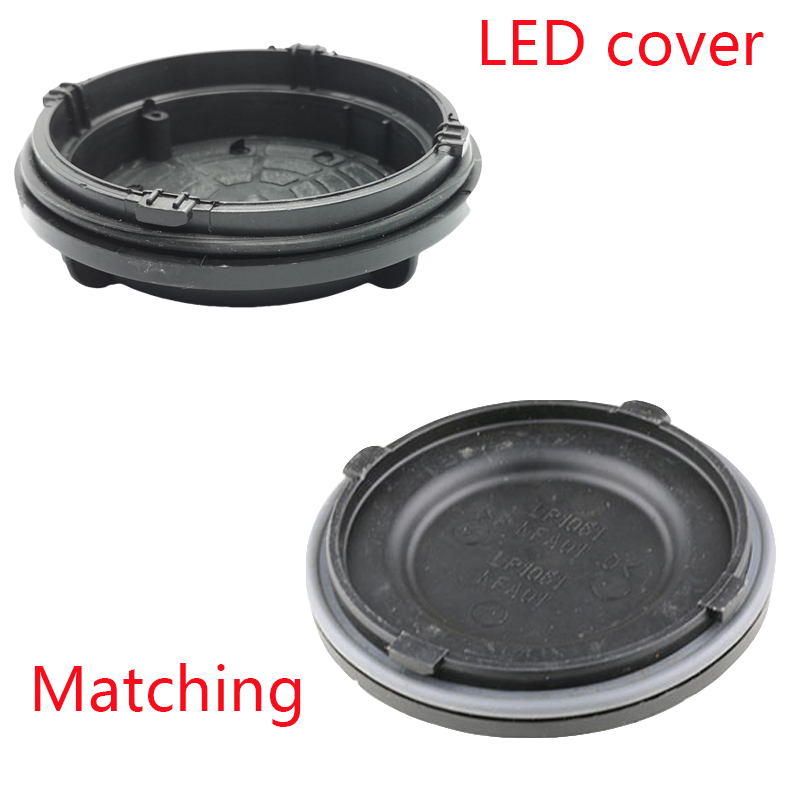 1 Pc Outlander 3rd 2017 Headlight Rear Cover Led Extension Dust Cover Hid Lamp Cover Plate H7 Y1009J Y1088Y
