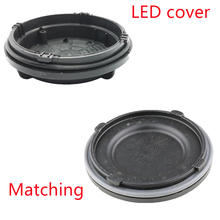 1 pc Outlander 3rd 2017 Headlight rear shell Led extension dust cover Hid Lamp caps plate H7 Y1009J Y1088Y