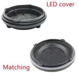 Image 1 - 1 pc outlander 3rd 2017 farol traseiro escudo led extensão capa poeira hid lâmpada tampas placa h7 y1009j y1088y