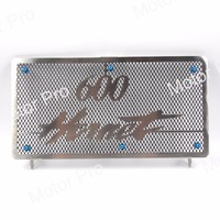 For Honda CB600 Hornet 1998 1999 2000 2001 2002 Radiator Grille Protective Grille Cooler Guard Cover Silver Motorcycle CB600