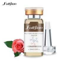 Fulljion Six Peptides Pure Collagen Protein Liquid Anti Aging Essence Hyaluronic Acid Anti-Wrinkle Face Lift Skin Care Serum 1pc