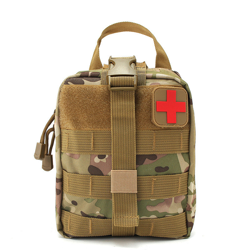 Hot MOLLE Tactical Pouch First Aid Bag Medical Military Utility Pouch Rescue Package for Travel Hunting Hiking Outdoor Bags