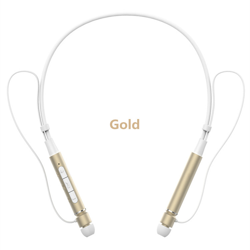 Tottiday Sweatproof Neckband Bluetooth Headset Z6000 Sports Earphone HIFI Stereo Calls Remind Headphones For Outdoor Running Gym