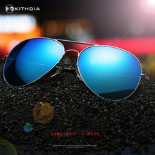 KITHDIA Men Polarized Sunglasses Classic Men Retro Rivet Shades Brand Designer Sun glasses Women UV400 Protcetion