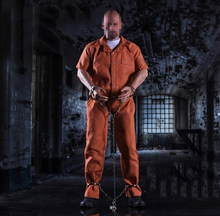 1/6 Fast and Furious 8 Jason Statham Prisoner Suit with Shoes for 12''Figures(China)