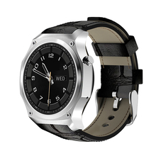 F2 Smartwatch GPS Sport Activity Tracker Man Waterproof Leather Strap Bracelet HD Bluetooth4.0 SIM 3G Support Twitter Facebook