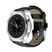 F2 Smartwatch gps Спорт трекер человек Водонепроницаемый браслет кожаный ремешок HD Bluetooth4.0 SIM 3g Поддержка Twitter Facebook