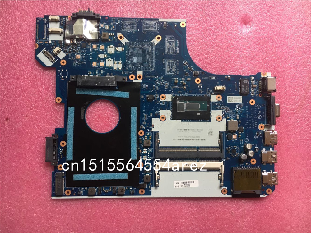 Original del ordenador portátil Lenovo THINKPAD E550 WIN i5-5200U CPU placa base integrada Mainboard 00HT638