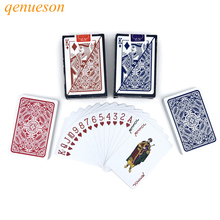 New Hot High Quality Baccarat Texas Holdem Plastic PVC Playing Cards Waterproof Poker Pokerstar Board Game 2.28*3.46 inch