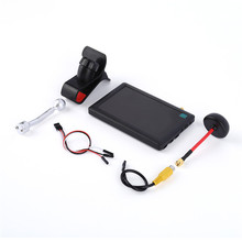 Free Shipping 5 inch 5.8G HD FPV Monitor Display Screen Built-in Receiver for FPV Racing Drone Multirotors Quadcopter
