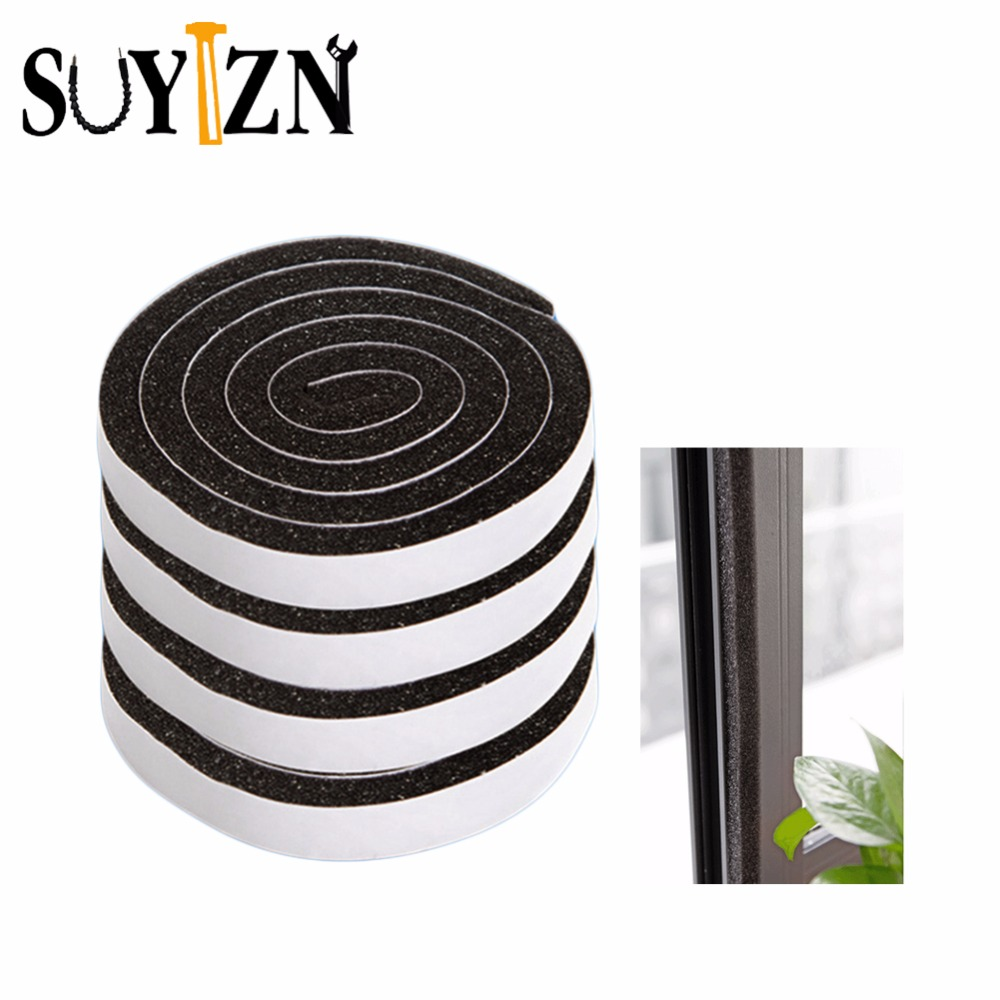 4Pcs Self-Adhesive Weatherstrip Window Seal Door Sealing Strips Article Soundproof Doors Anti-theft Dust Stickers Weatherstrip  ...