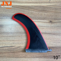 G10 CNC 10 sup centre fins stand up paddle board fcs fins