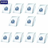 NTNT 10Pcs Lot For Miele Type GN Deluxe Synthetic Vacuum 4 Filters S2 S5 S8 C1