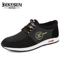 DEKESEN New Fashion Leisure Men Shoes High Quality Men S Casual Shoes Spring Autumn Breathable Shoes